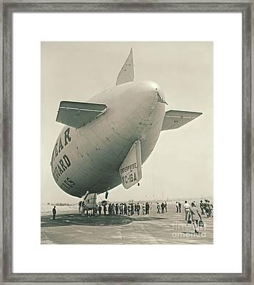 Commuter Flight 1940 Framed Print by Padre Art