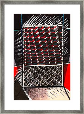 Individual Compartment Complexity Framed Print by Al Goldfarb