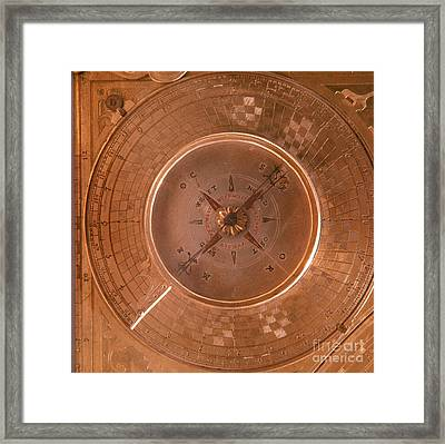 Compass Framed Print by Tomsich