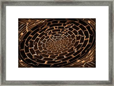 Complicated Journey Framed Print by Kristin Elmquist