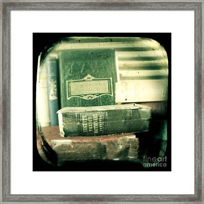 Comprehension Framed Print by Andrew Paranavitana