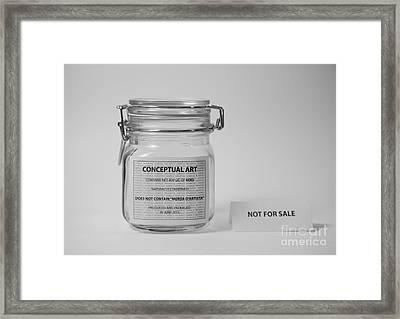 Conceptual Art Framed Print by Gabriela Insuratelu