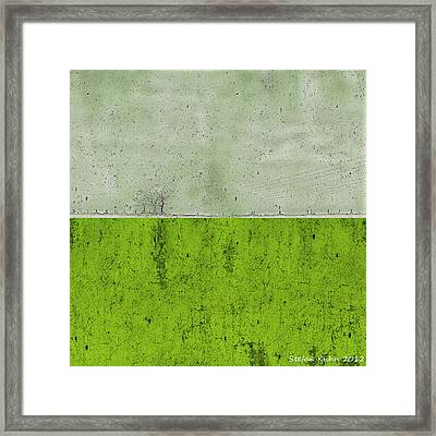 Concrete Landscape 1 Framed Print by Steve K