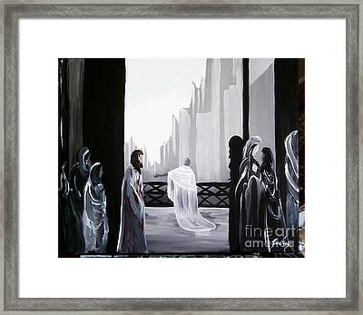 Condemned Framed Print by Lisa Ivey