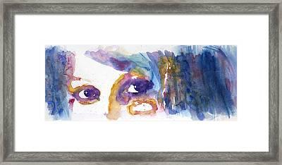 Confetti Framed Print by Lynne Furrer