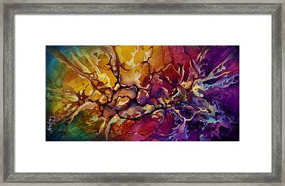 Conflict Framed Print by Michael Lang