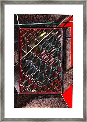 Conjunction Processing Space Framed Print by Al Goldfarb