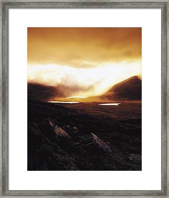 Conor Pass, Dingle Peninsula, Co Kerry Framed Print by The Irish Image Collection
