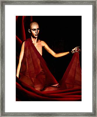 Conquerable Quest Framed Print by Lourry Legarde