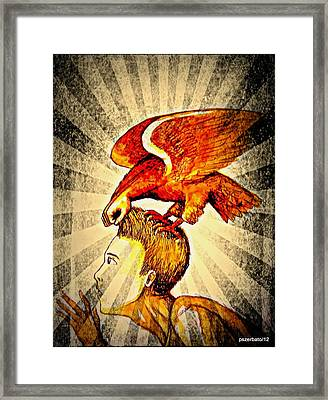 Conquering Hearts And Minds Framed Print by Paulo Zerbato