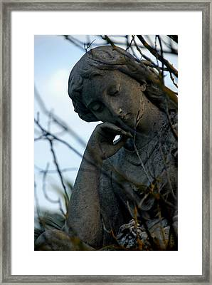 consider I Framed Print by Phil Bongiorno