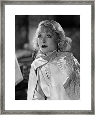 Constance Bennett, Ca. 1930s Framed Print by Everett