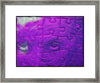 Constant Search For Meaning Framed Print by Paulo Zerbato