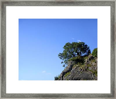 Contemplating The Unreachable Framed Print by Roberto Alamino