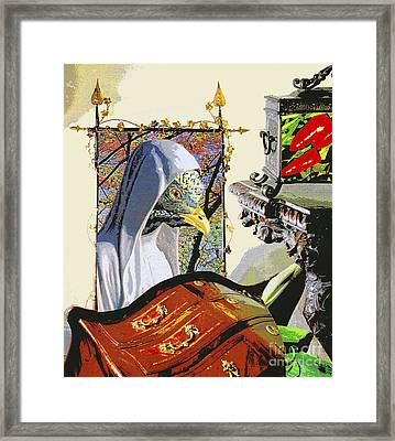 Contemplation Framed Print by Bill Thomson