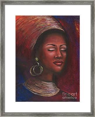Contentment Framed Print by Alga Washington