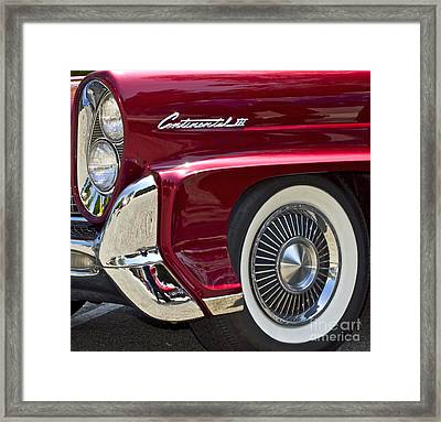 Continental IIi Framed Print by Gwyn Newcombe