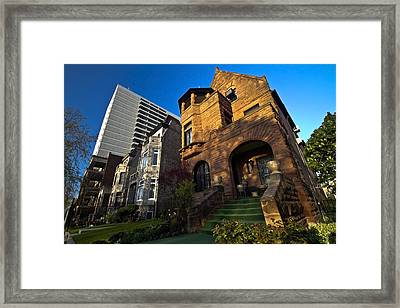 Contrast In Architecture Framed Print by Sven Brogren