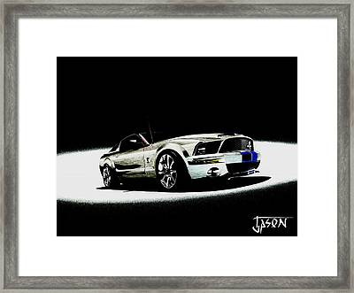 Convergence Framed Print by Jason Rowsell