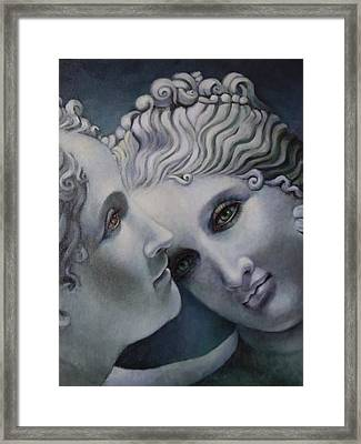 Cool Muses  Framed Print by Geraldine Arata