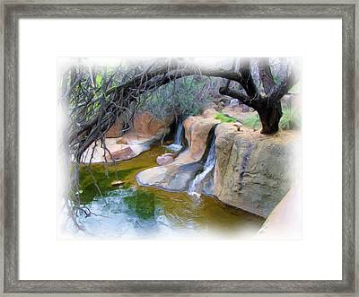 Cool Waters Framed Print by FeVa  Fotos