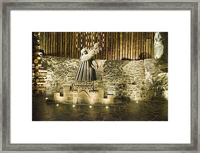 Copernicus - Wieliczka Salt Mine Framed Print by Jon Berghoff