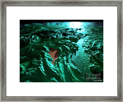 Copper Lake Framed Print by Oliver Betsch
