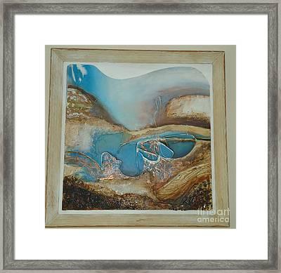 Cornish Vibe Framed Print by Amy Jo