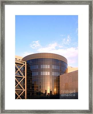 Corporate Architectural Design Framed Print by Yali Shi