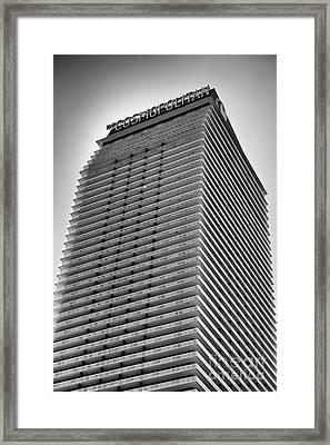 Cosmopolitan Framed Print by Leslie Leda