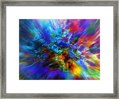 Cosmos   Framed Print by Irina Hays