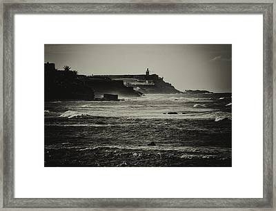 Costa De San Juan Framed Print by Mauricio Jimenez