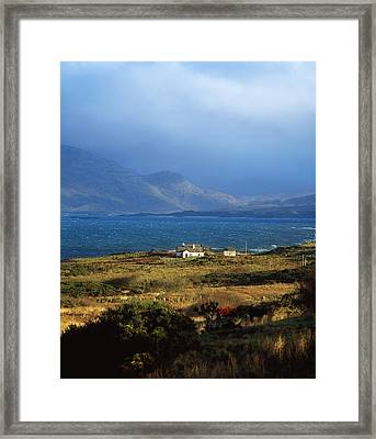 Cottage Near Renvyle, Connemara, Co Framed Print by The Irish Image Collection