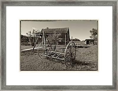 Country Classic Monochrome Framed Print by Steve Harrington