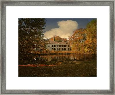 Country Estate Genbroek Framed Print by Nop Briex