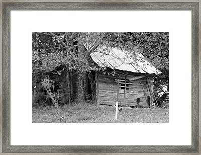 Country Shed Framed Print by Suzanne  McClain