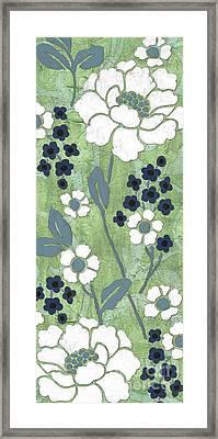 Country Spa Floral 1 Framed Print by Debbie DeWitt