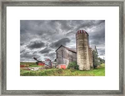 Country Storm Framed Print by John-Paul Fillion
