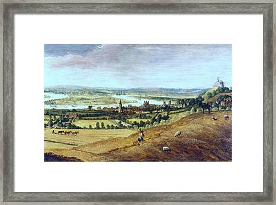 Countryside In London, England, 17th Century Framed Print by Photos.com