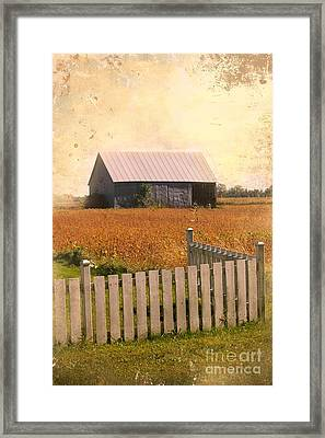 Countryside Life Framed Print by Sophie Vigneault
