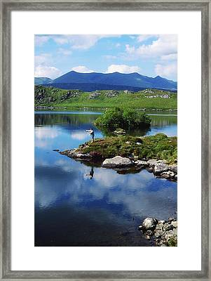 County Kerry, Ireland Fishing On Framed Print by Sici
