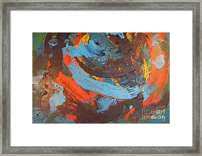 Courage Framed Print by Helen Betz