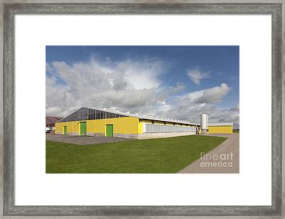 Cowshed Exterior Framed Print by Jaak Nilson