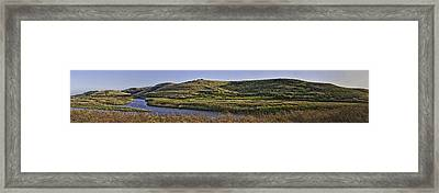 Coyote Hills Regional Park Framed Print by Nathaniel Kolby