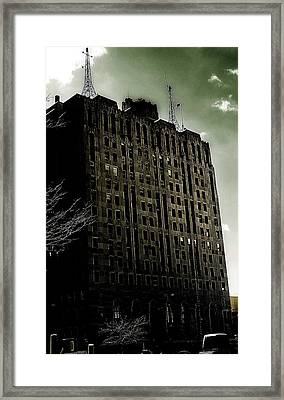 Crack Zombie Apocalypse 2 Framed Print by Scott Hovind