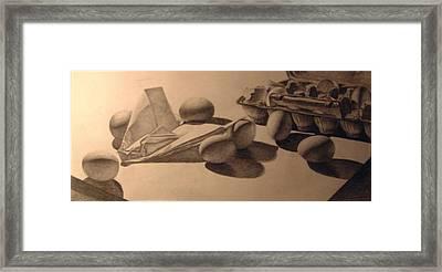 Crash Landing Framed Print by Nathan Buhler