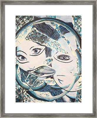 Crazy In Seattle Framed Print by Tamra Pfeifle Davisson