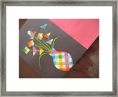 Creative Mind Unfolds  Framed Print by Sonali Gangane