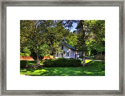 Crescent Hill Baptist Church Framed Print by Greg and Chrystal Mimbs