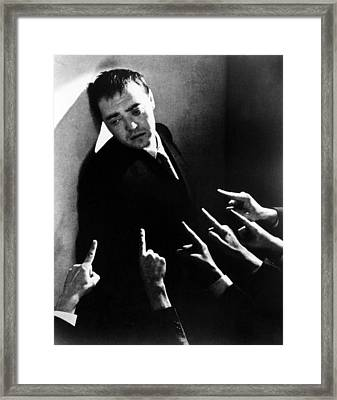 Crime And Punishment, Peter Lorre, 1935 Framed Print by Everett